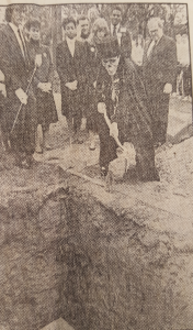 Burying the time capsule