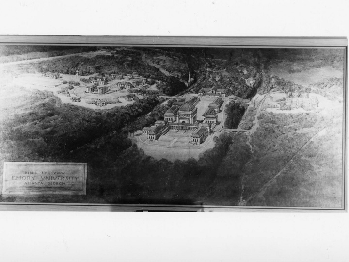 Henry Hornbostel, architect based in New York and Pittsburgh, was commissioned to plan the Atlanta campus in 1915.