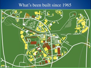 What's been built since 1965