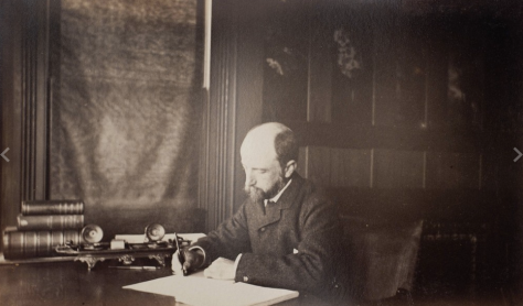 Henry Adams, photo by Marian Hooper Adams, courtesy of Massachusetts Historial Society