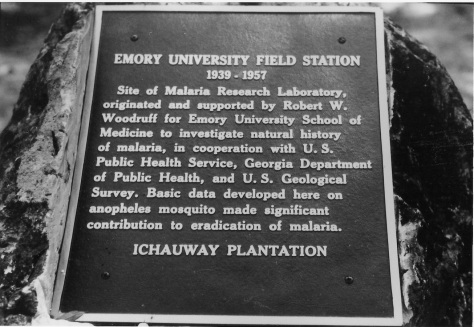 Ichauway plaque copy